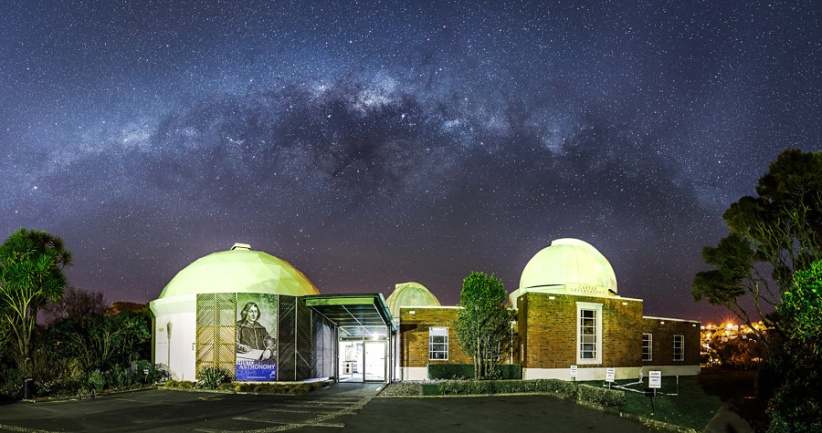 Milky Way Above Carter Observatory
