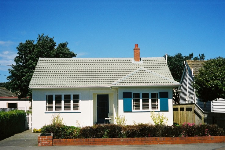(1937) First state house in Miramar. Heritage New Zealand