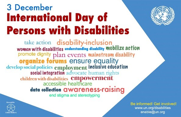 Intl Day of the disabled