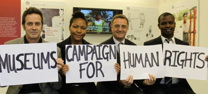 Museum campaign for human rights
