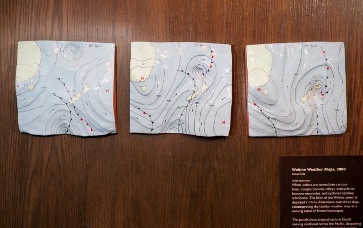 Wahine Weather maps