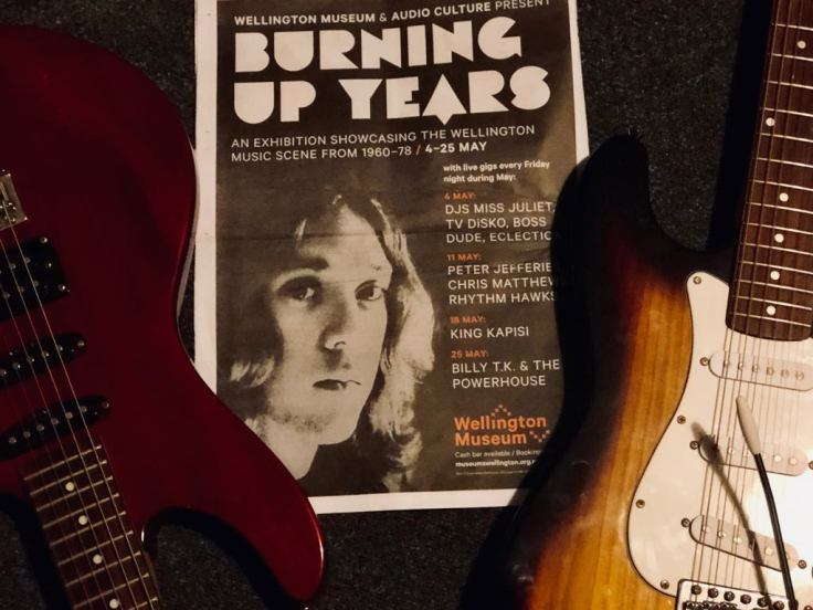 BURNING UP YEARS GUITARS